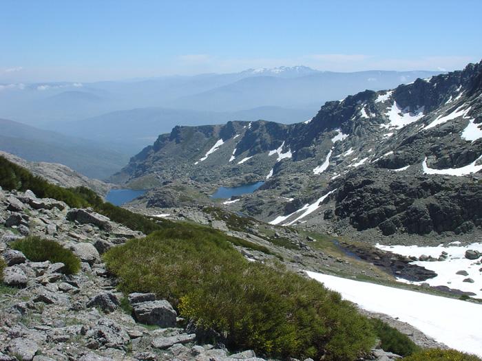 Lagunas en Sierra de Candelario