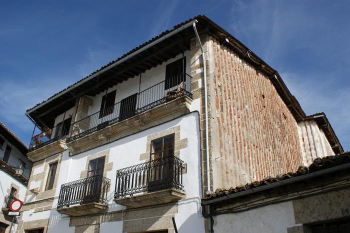 Arquitectura típica de Candelario