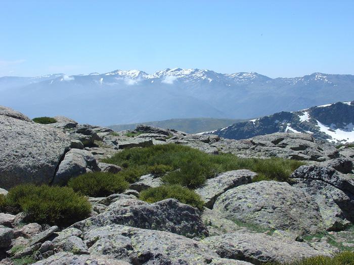 Gredos desde la Sierra de Candelario